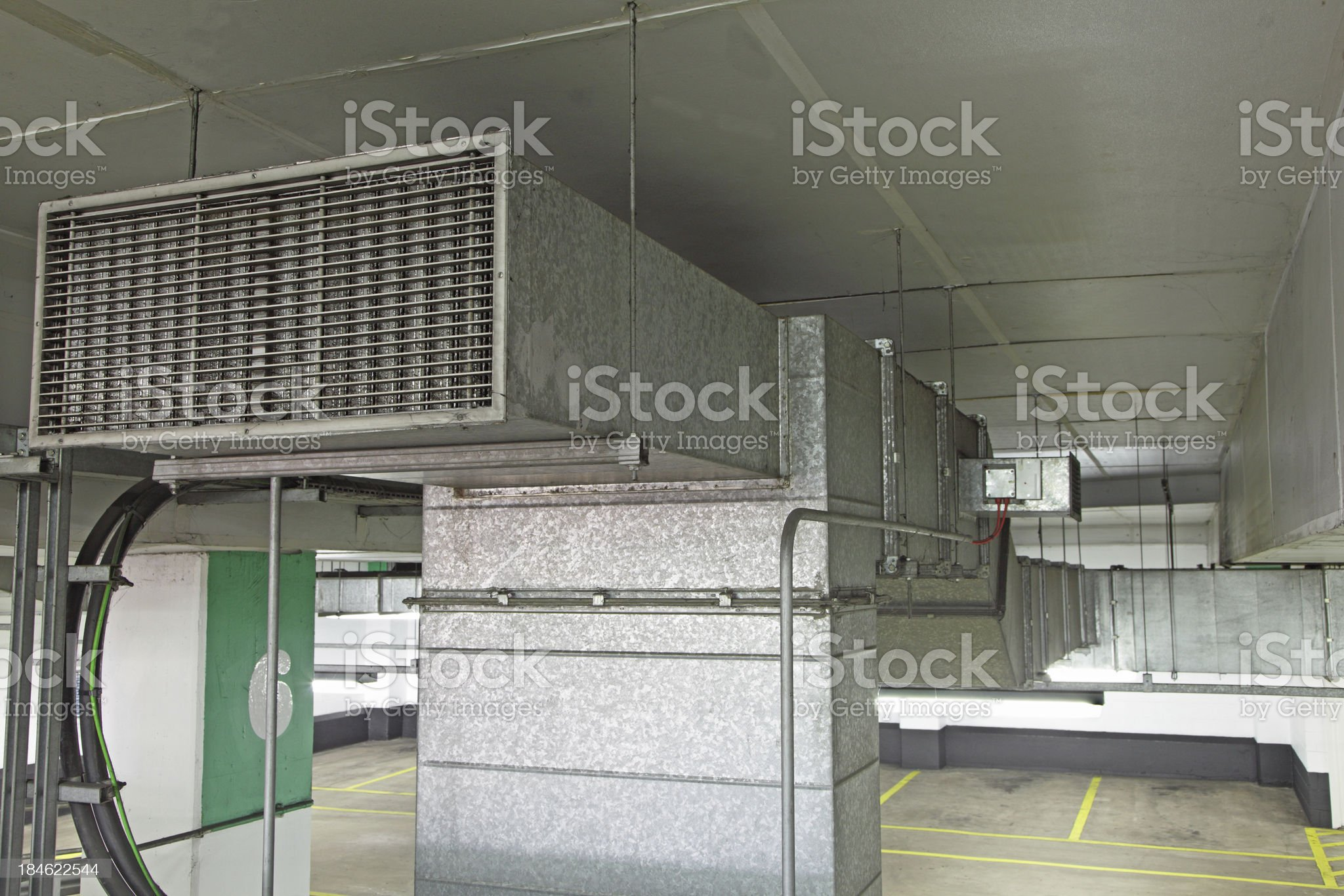 fume extraction system royalty-free stock photo