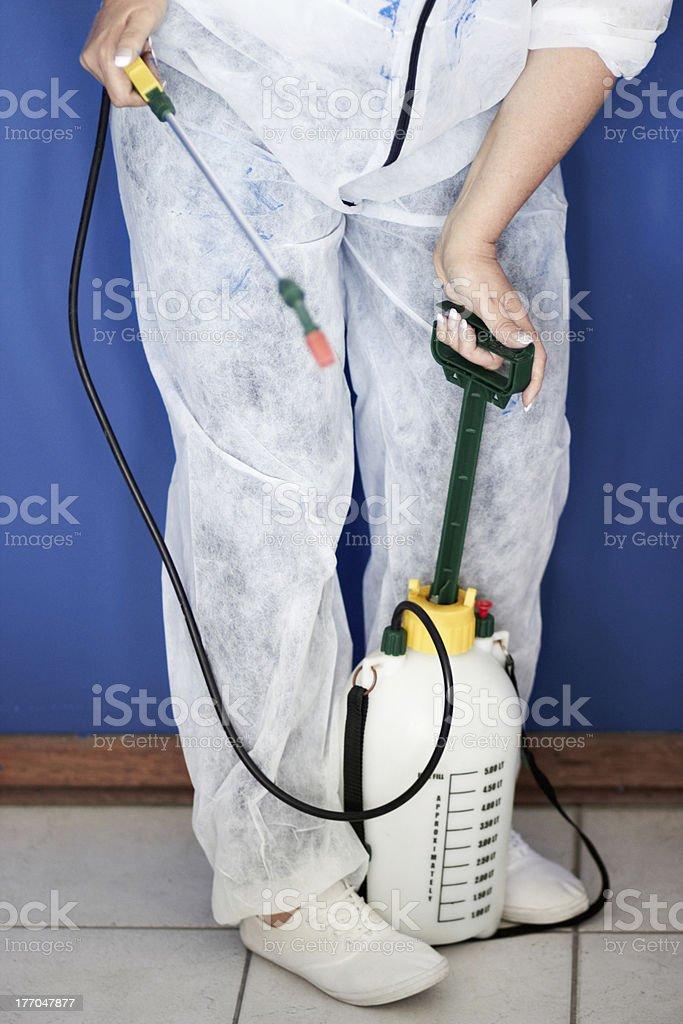 Fumigation royalty-free stock photo