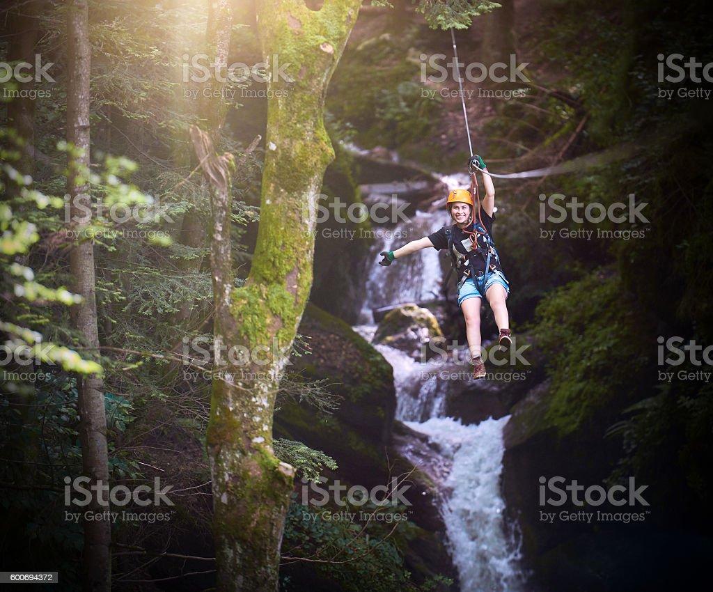 fun, adventure and freedom stock photo