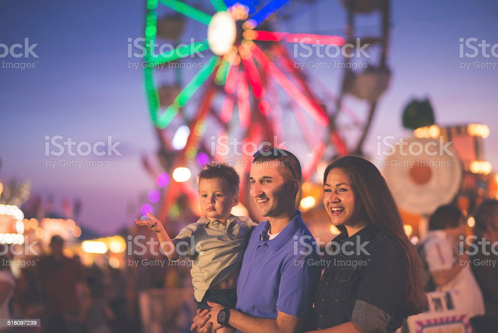 Fun at the Fair stock photo