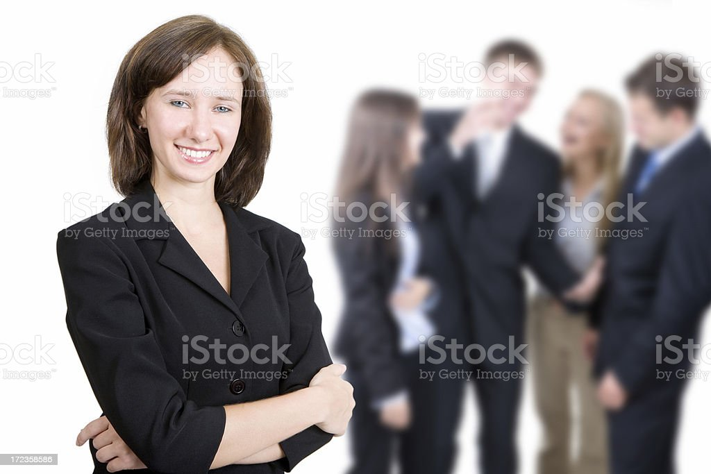Fun at Work royalty-free stock photo
