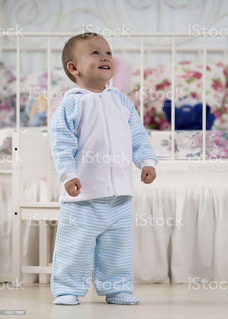 Fun baby royalty-free stock photo