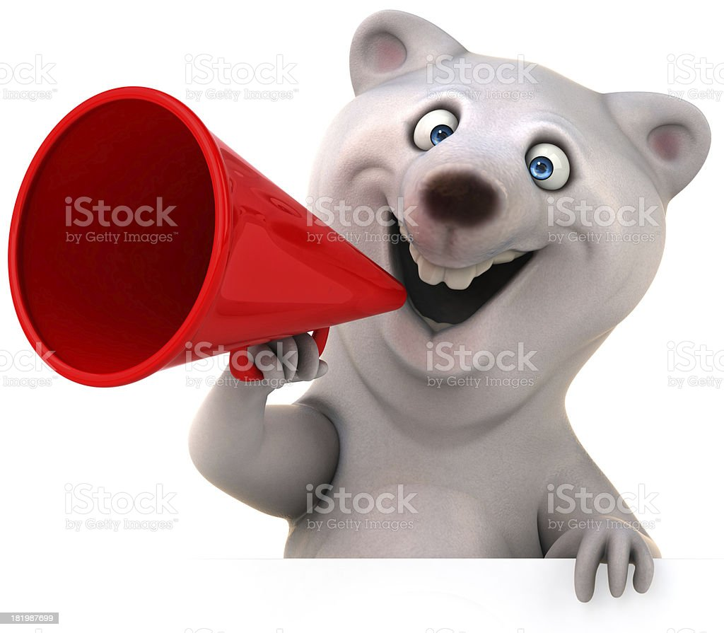 Fun bear royalty-free stock photo