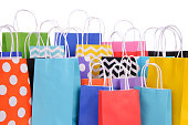 Fun Colorful Party Bags.