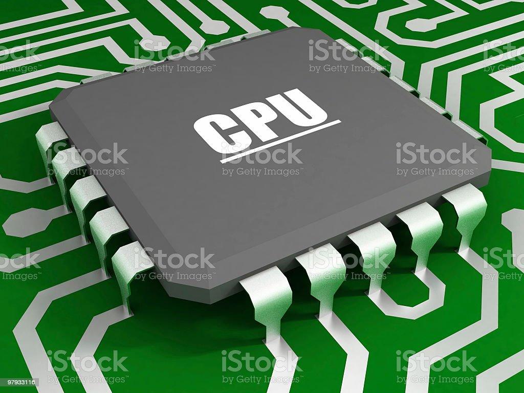 Fun CPU stock photo
