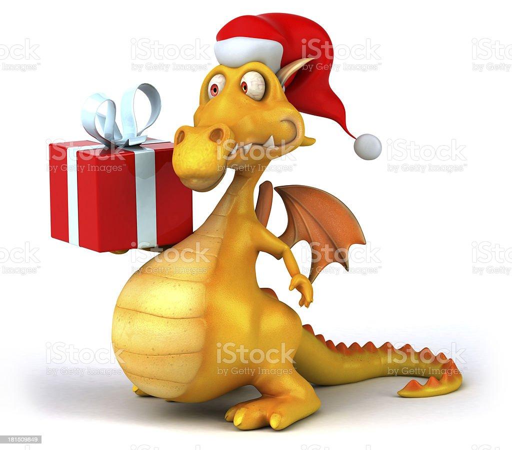 Fun dragon royalty-free stock photo