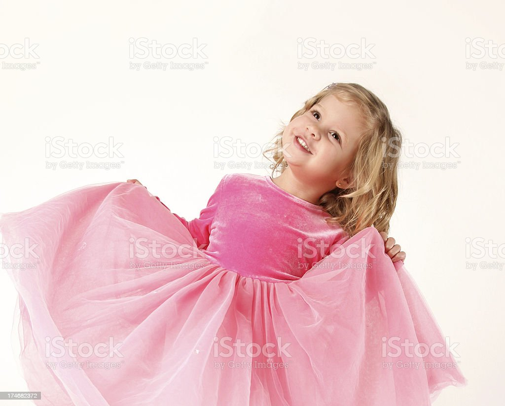 Fun Dressing-Up! royalty-free stock photo
