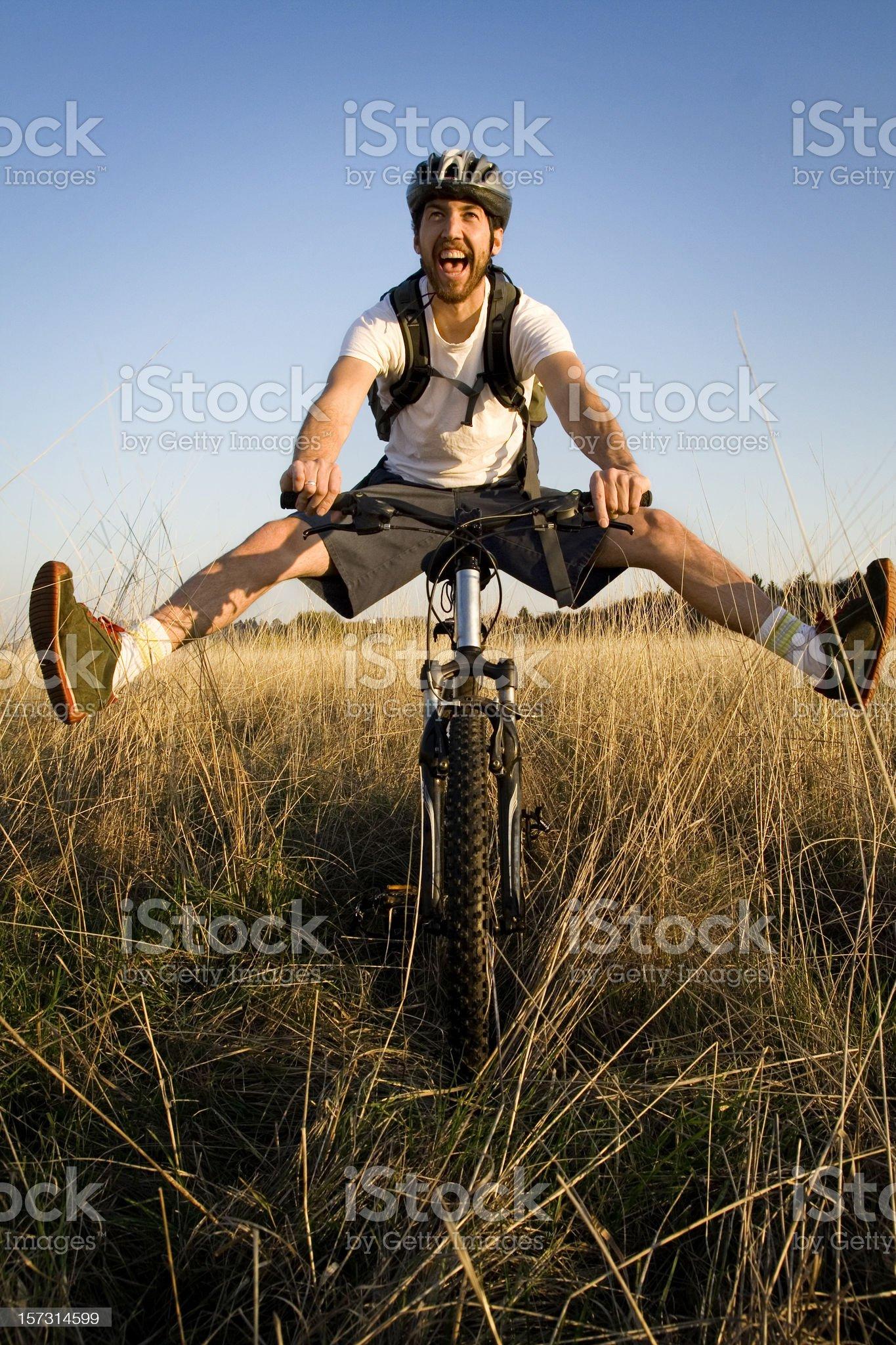 Fun Exercise royalty-free stock photo