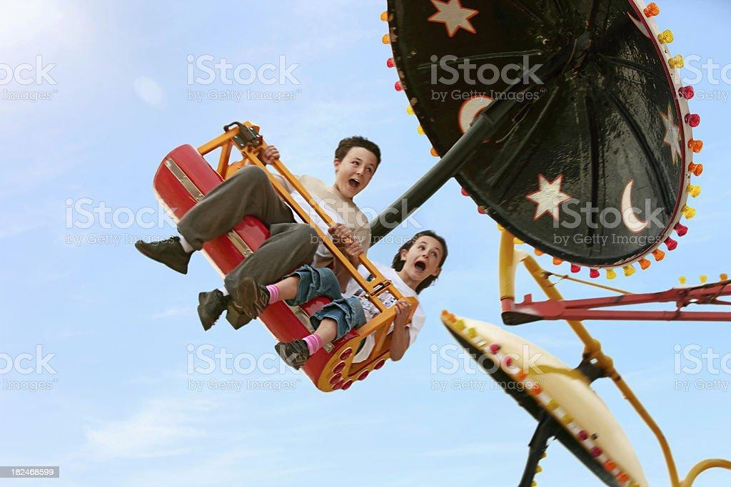 Fun fair stock photo