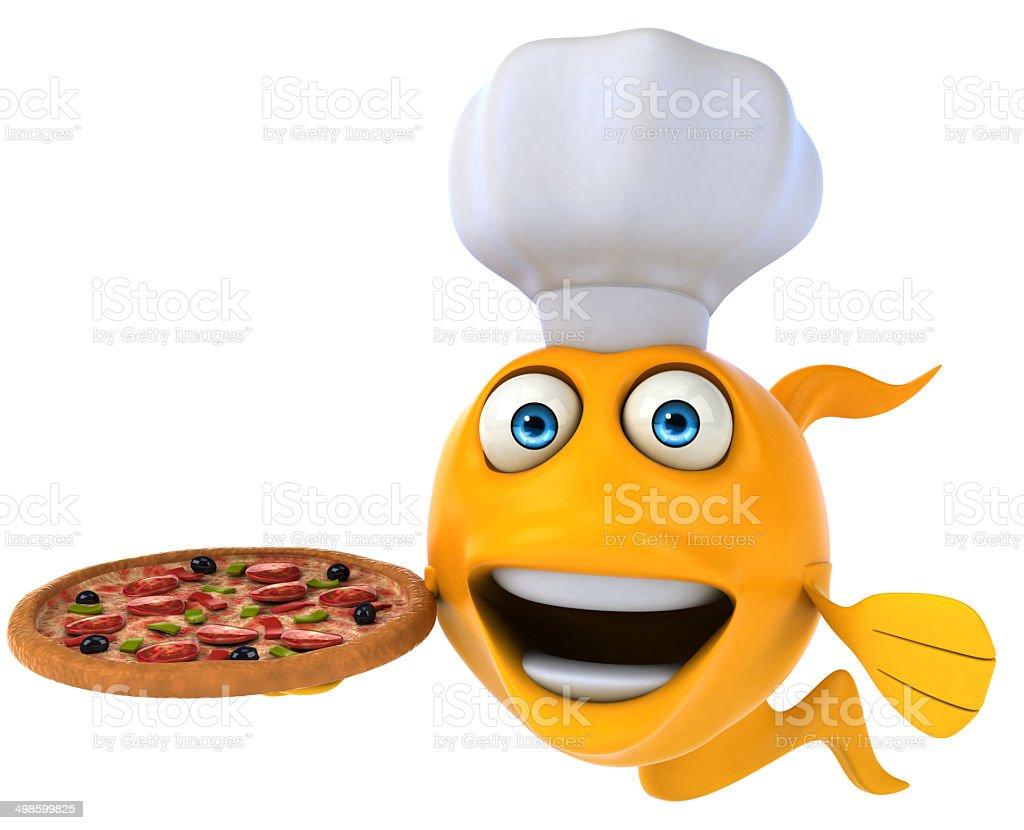Fun fish stock photo