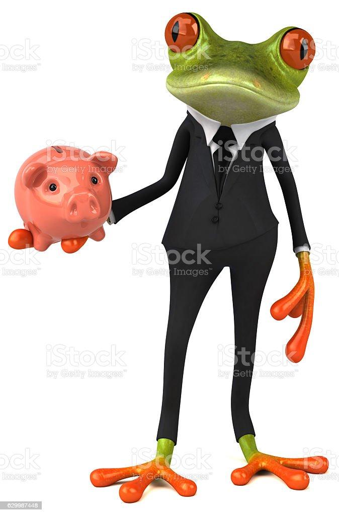 Lustige Frosch Stockfoto 629987448 | iStock