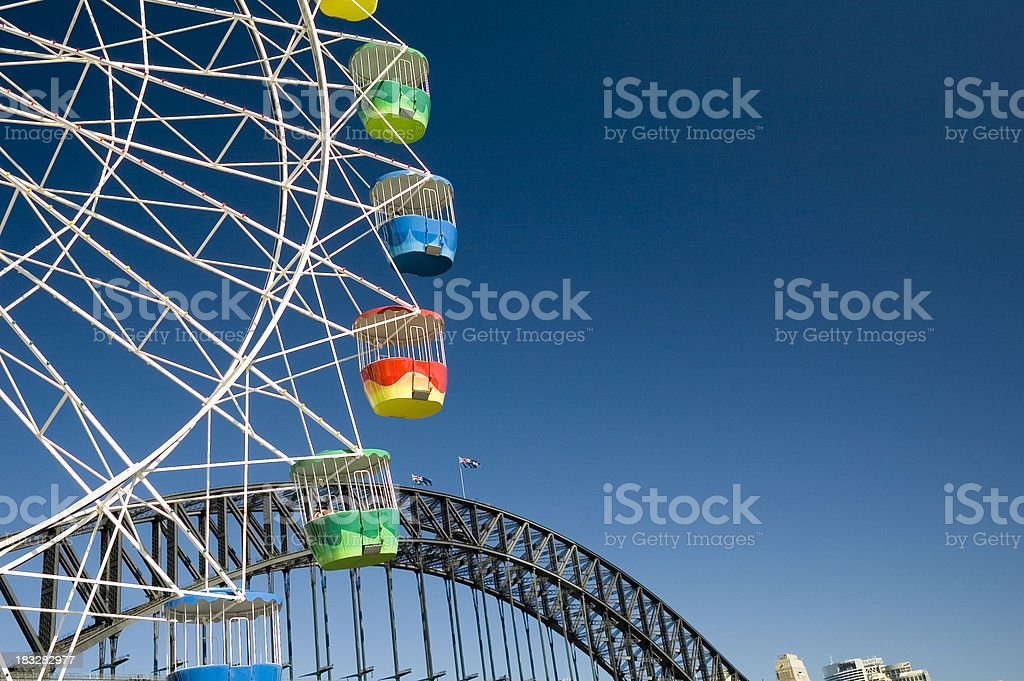 Fun in the harbour royalty-free stock photo