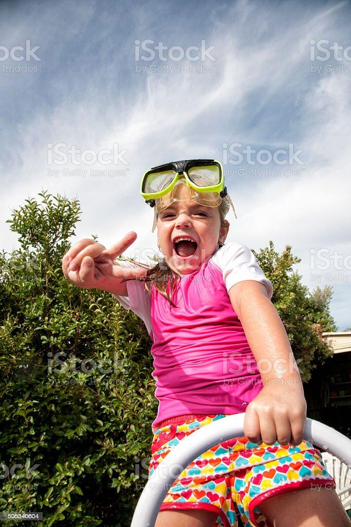 Fun In The Sun stock photo