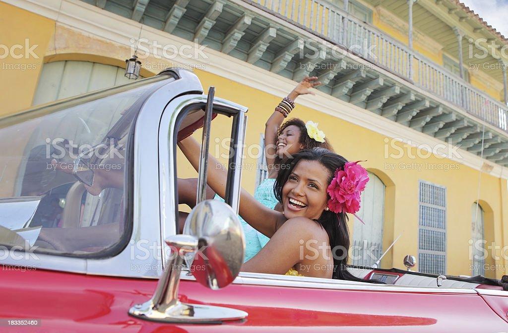 Fun in Trinidad, Cuba stock photo