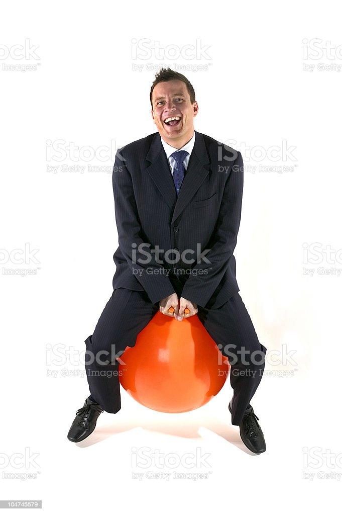Fun on a Hopper stock photo