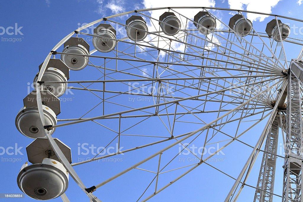 Fun on the Ferris Wheel royalty-free stock photo
