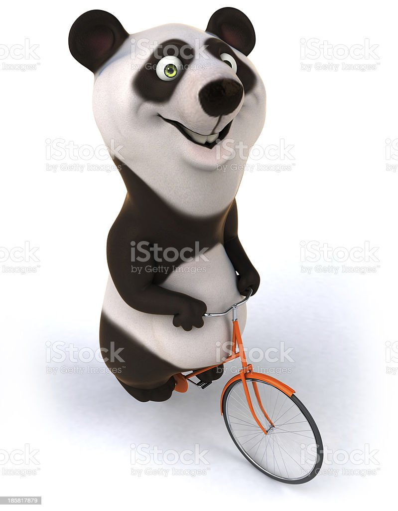 Fun panda royalty-free stock photo