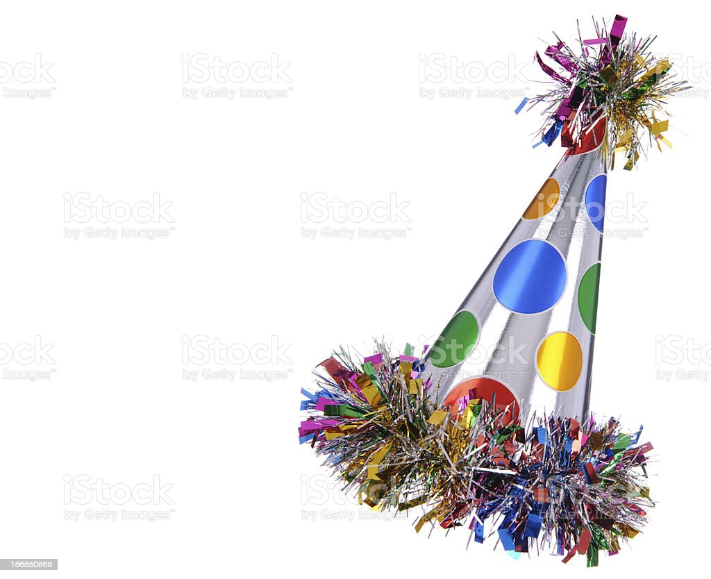 Fun Party Hat stock photo
