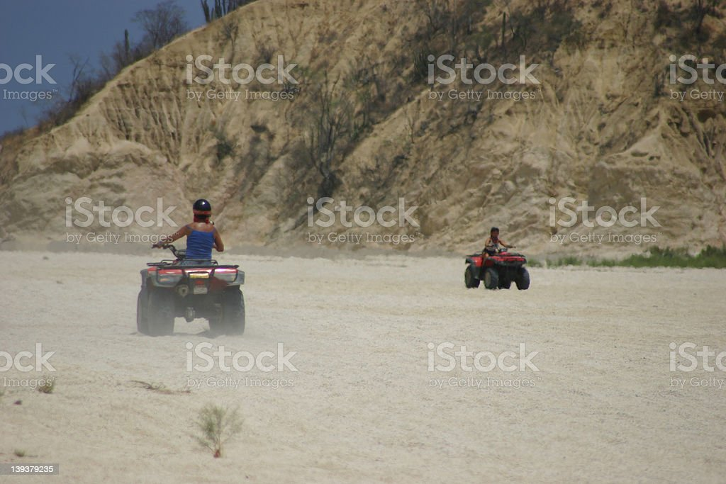 ATV Fun stock photo