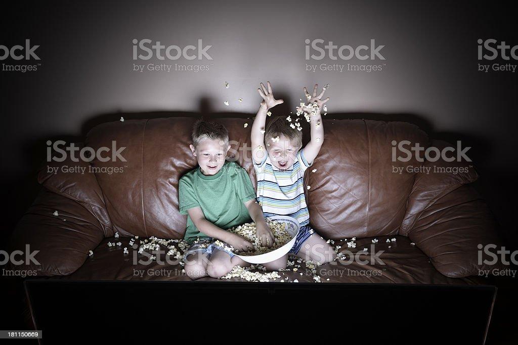 TV fun royalty-free stock photo