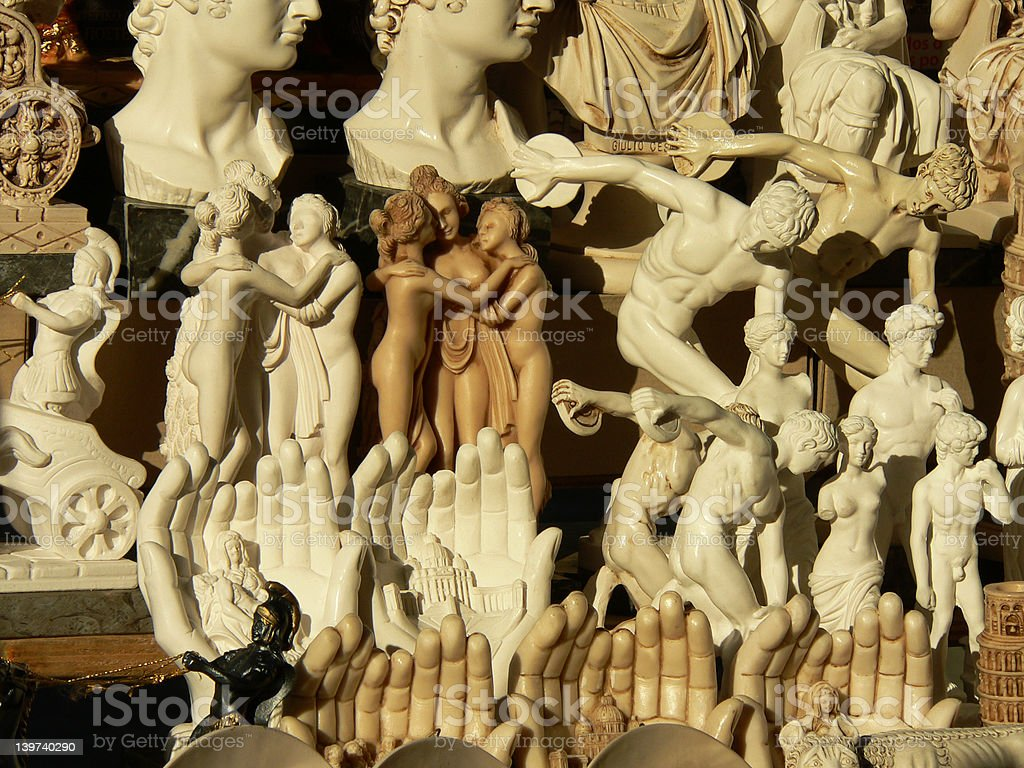 Fun Roman Souvenirs royalty-free stock photo