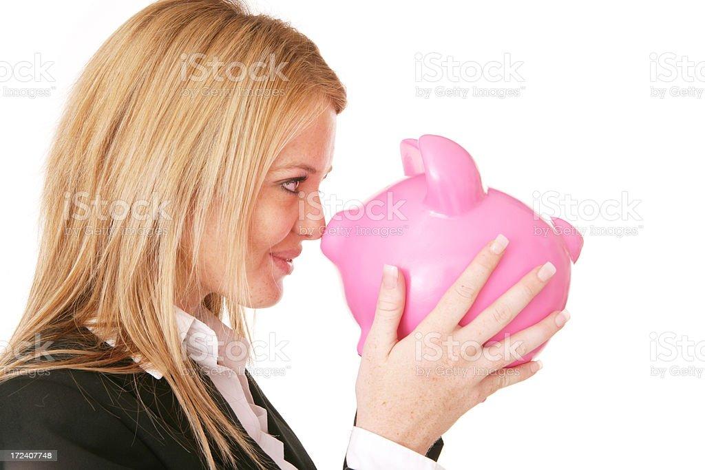 Fun Savings royalty-free stock photo
