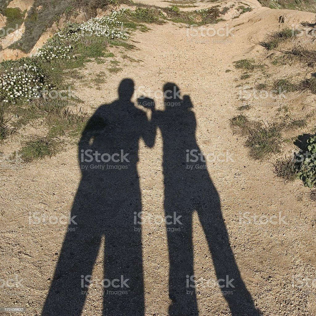 Fun Shadows royalty-free stock photo