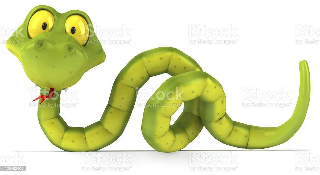 Fun snake stock photo