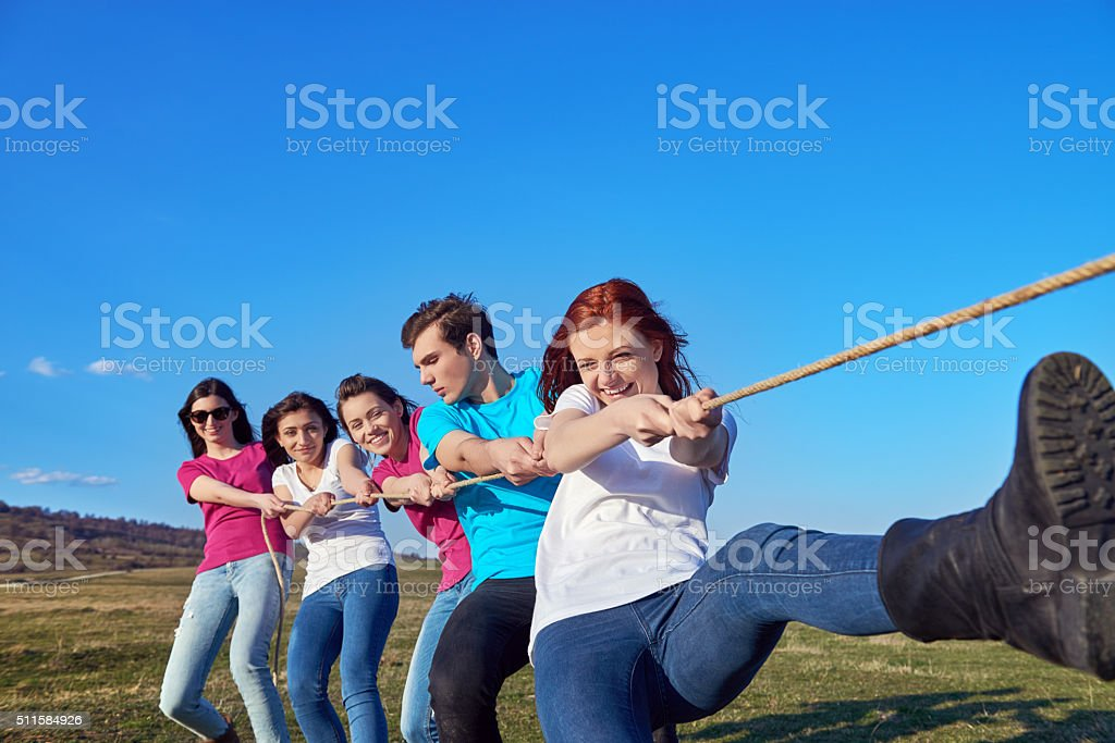 fun time, playing leisure games stock photo