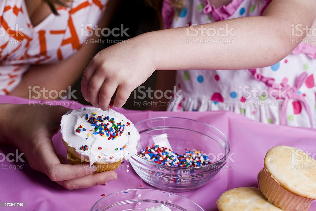 Fun With Cupcakes royalty-free stock photo