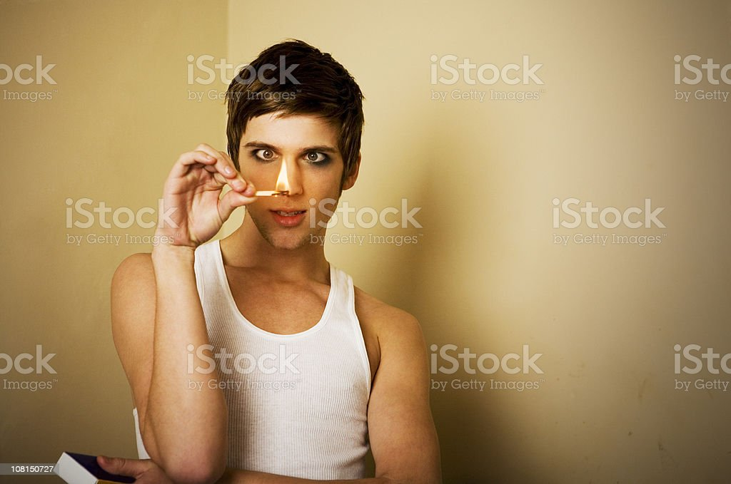 Fun with Matches royalty-free stock photo