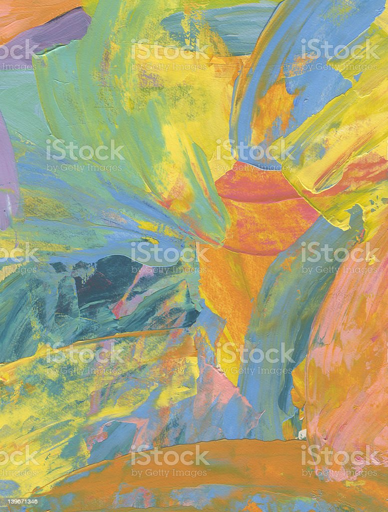 Fun With Paint IV royalty-free stock photo