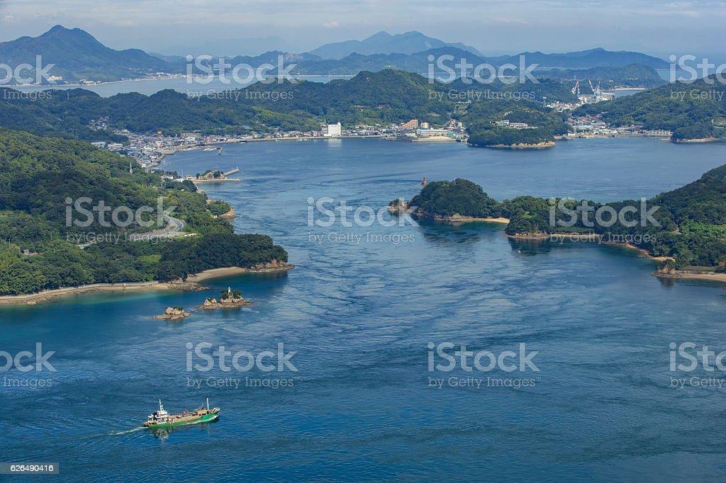 Funaori Seto (Seto Inland Sea) in Japan stock photo
