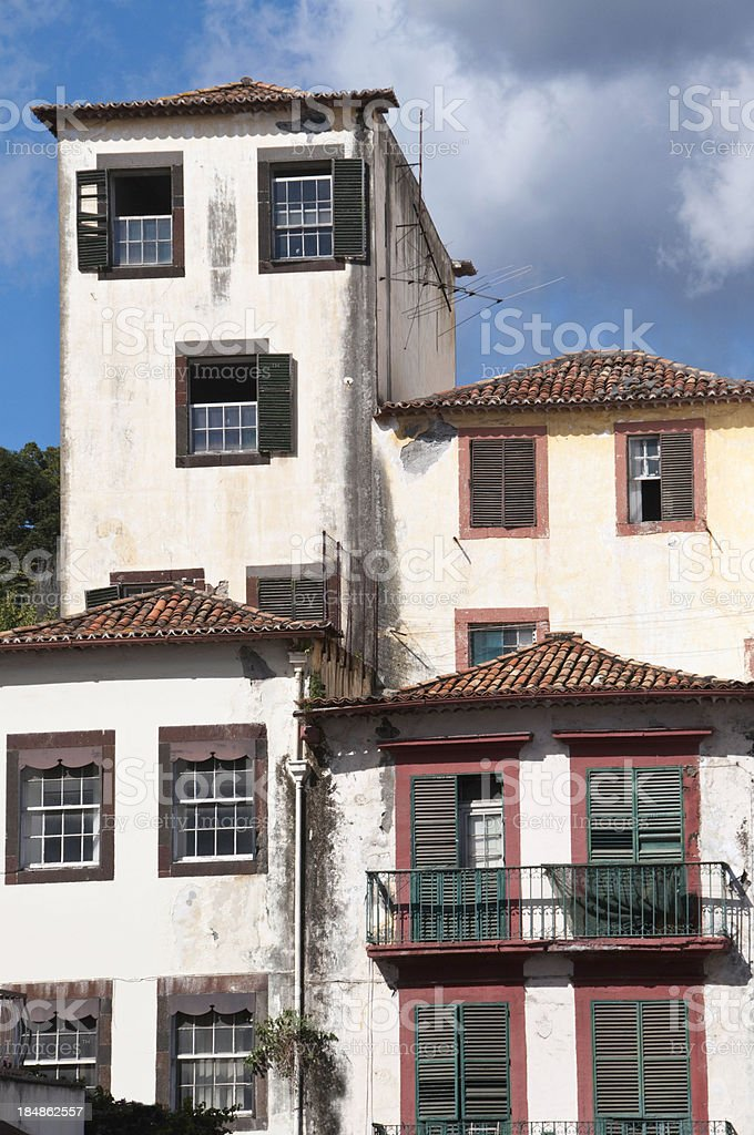 Funchal Apartments stock photo