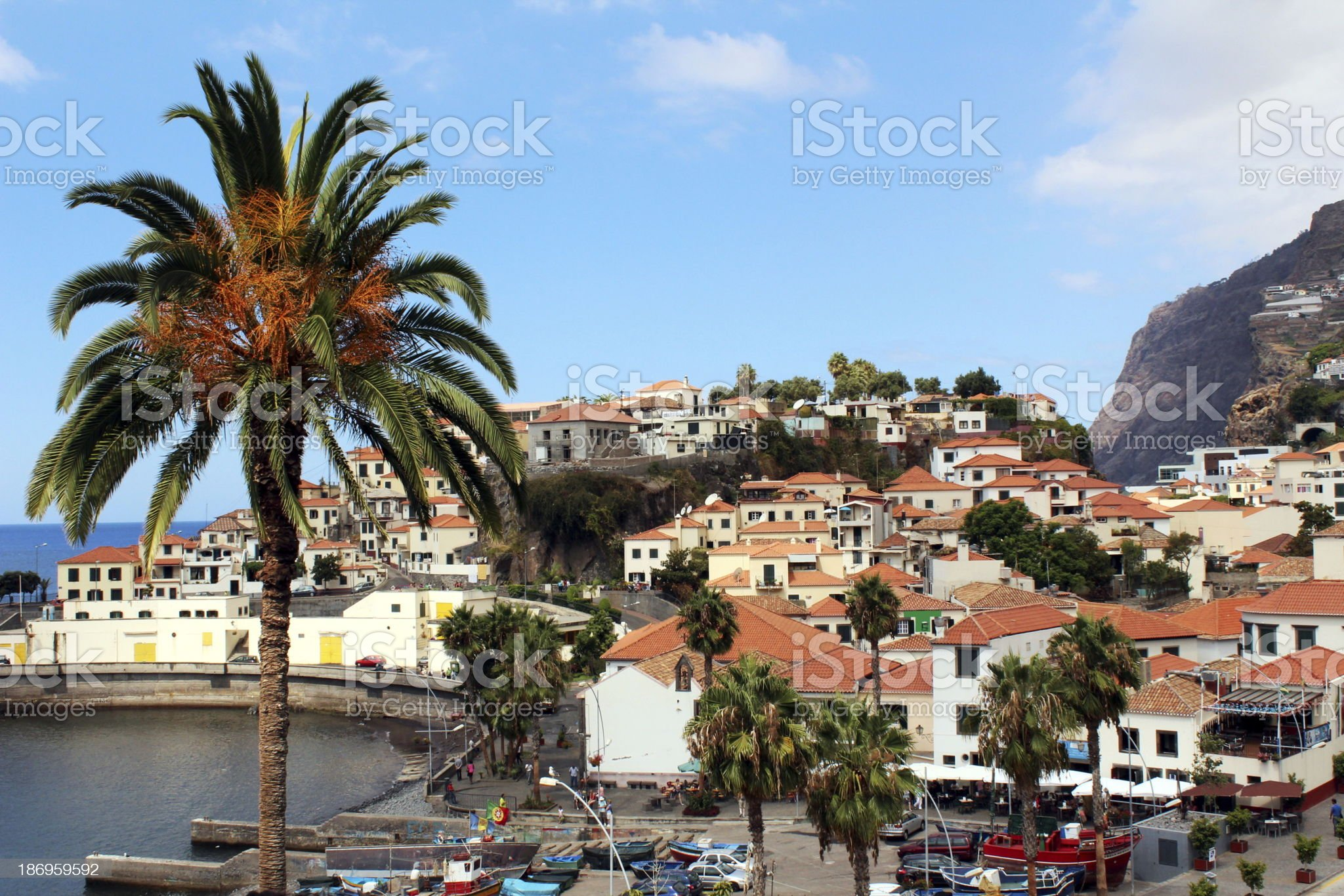 Funchal in Madeira royalty-free stock photo