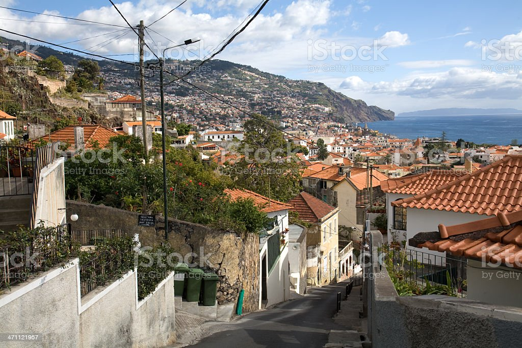Funchal, Madeira, Portugal royalty-free stock photo