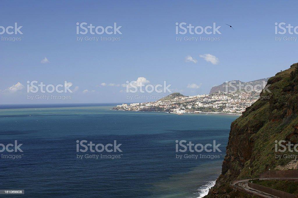 Funchal royalty-free stock photo