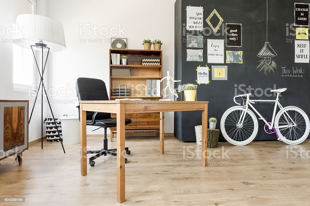 Functional use of a small home space stock photo