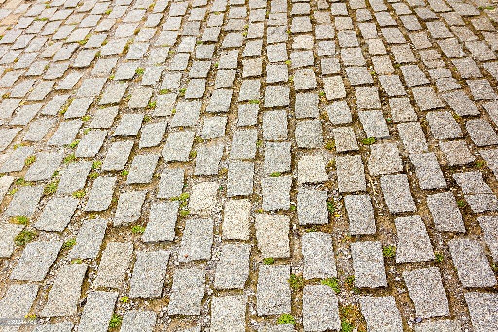 Fund fact cobblestone floors stock photo
