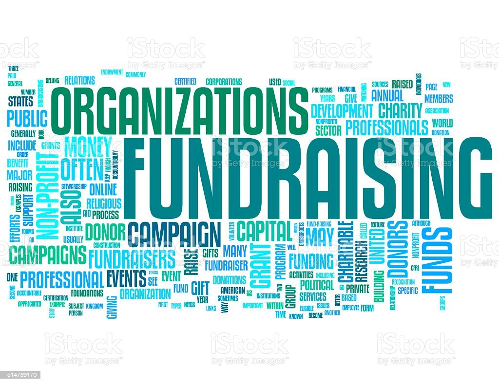 Fundraising stock photo