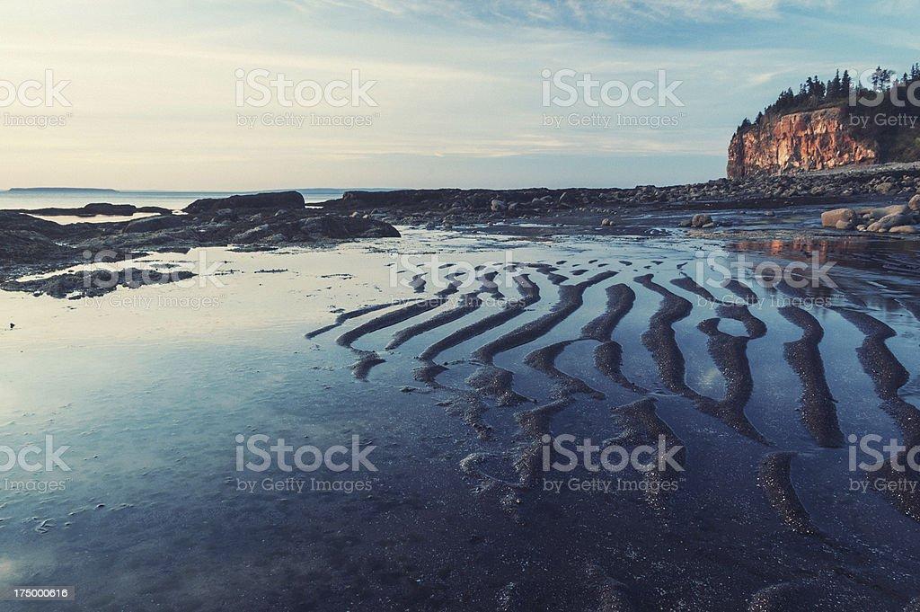 Fundy Coast royalty-free stock photo