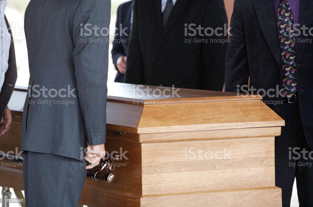 Funerale 1 foto stock royalty-free