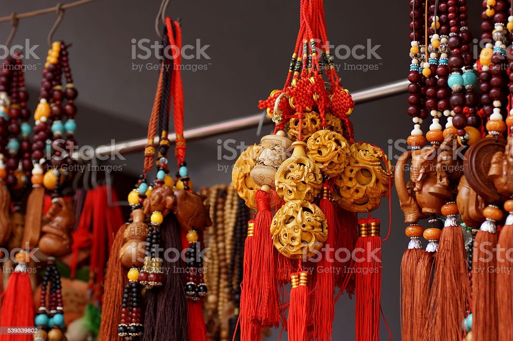Funeral decorations in Buddhism. stock photo