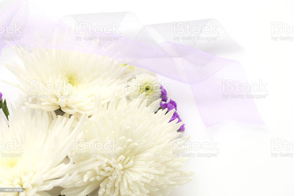 Funeral flowers royalty-free stock photo