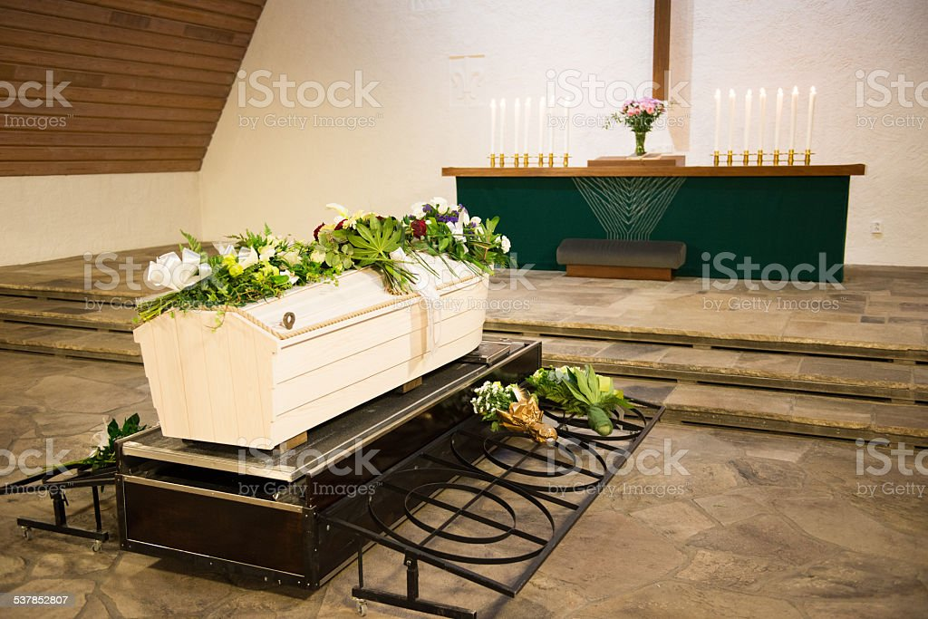 Funeral stock photo