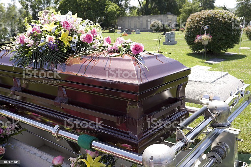 Funeral Series stock photo