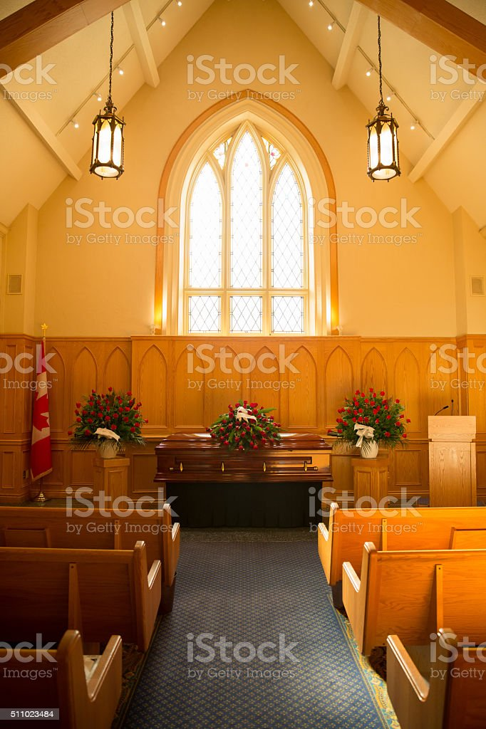 Funeral Service stock photo