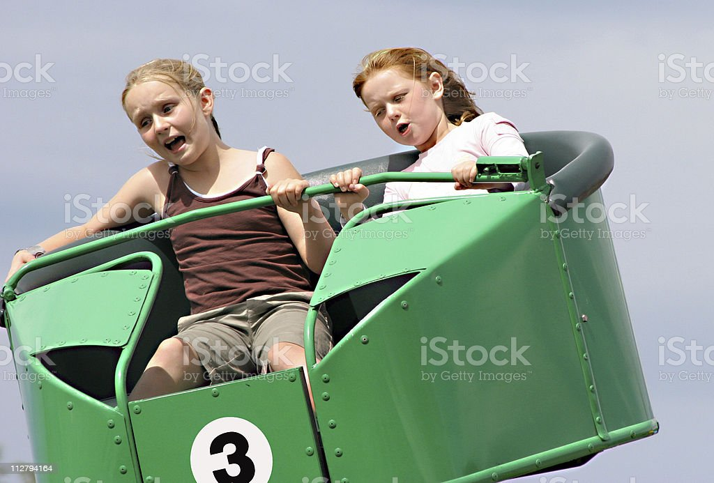 Funfair frolics royalty-free stock photo