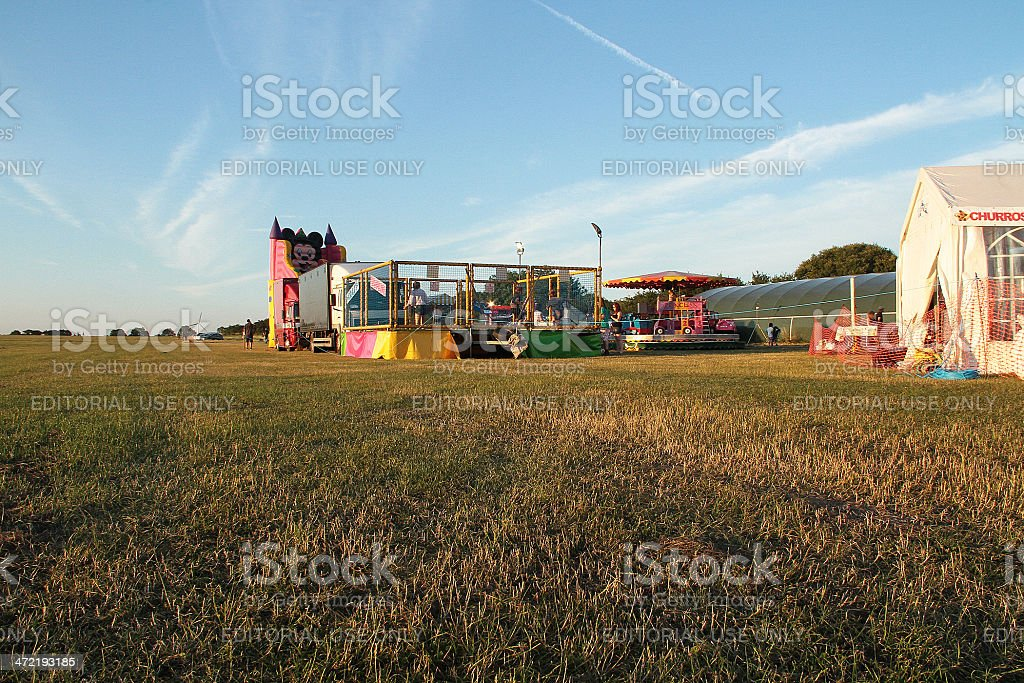 Parco giochi in Gloucester foto stock royalty-free