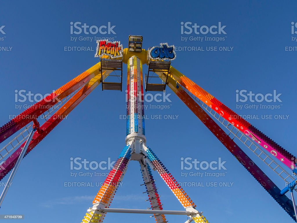funfair royalty-free stock photo